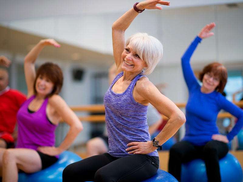 Active Older Adults Piyo Campus Recreation